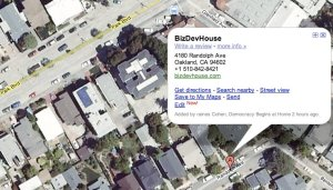 BizDevHouse coworking in Oakland, CA